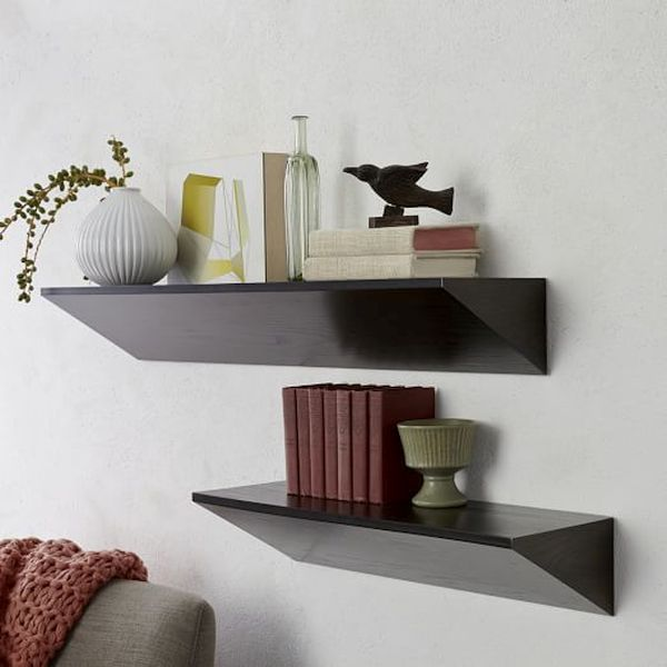 West Elm Wedge Shelf Design