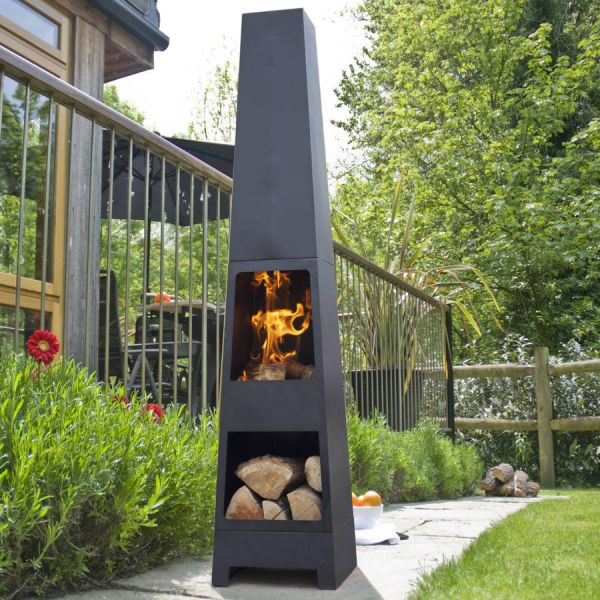 Malmo Chiminea Patio Heater