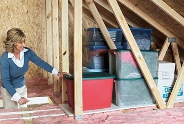 Ideas That Will Make The Attic A Formidable Storage Space