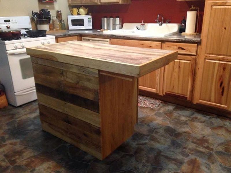 DIY Awesome Ideas For Making Kitchen Islands - Making a kitchen island