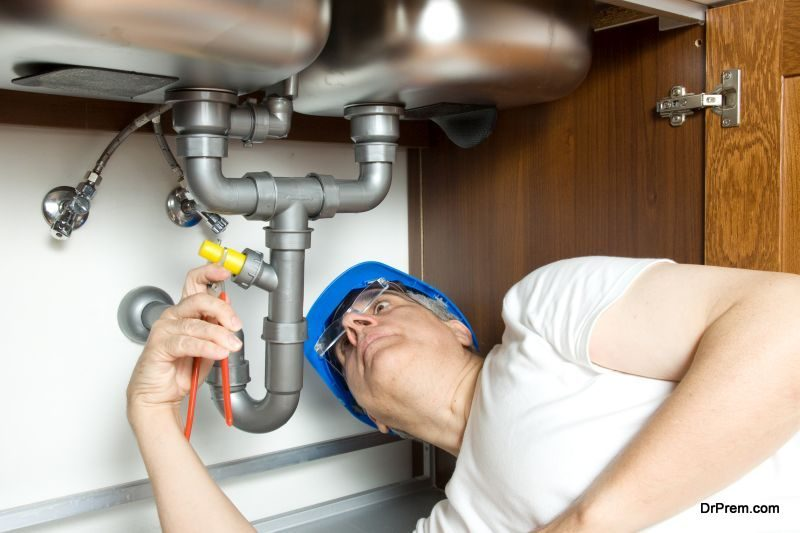 Male plumber