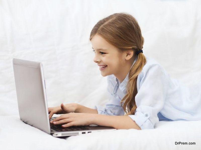 kid's online activities