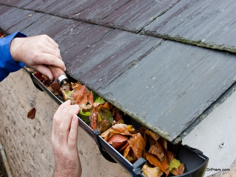 Clean and Secure the Gutters