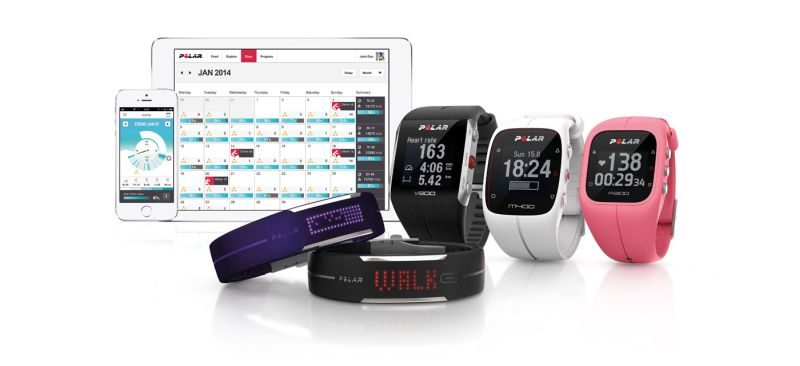 Heart rate monitor with Polar A370