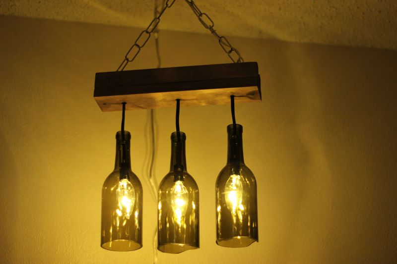 bd47cb5aea42 DIY ideas to convert old wine bottles into amazing pieces of decoration