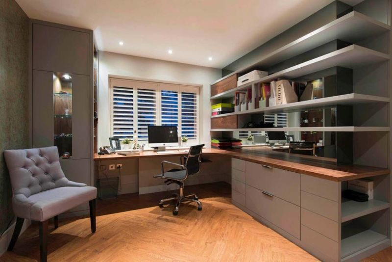 home office in small spaces