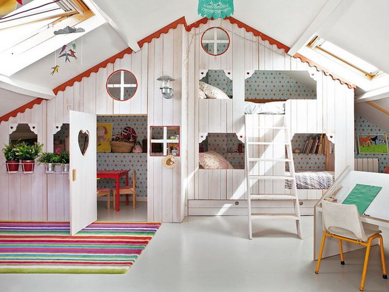 Ideas To Redesign Your Attic Into An Indoor Play Zone For Your Kids