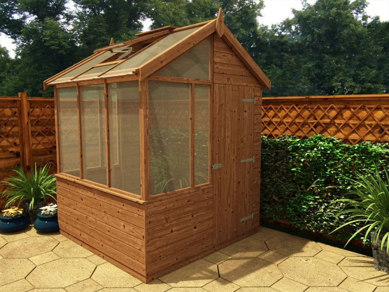 building a potting shed