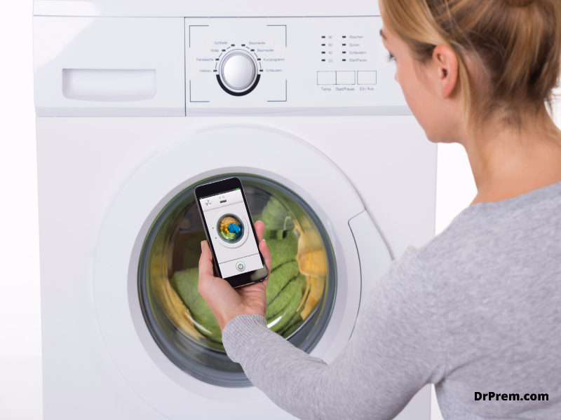 Laundry tags app
