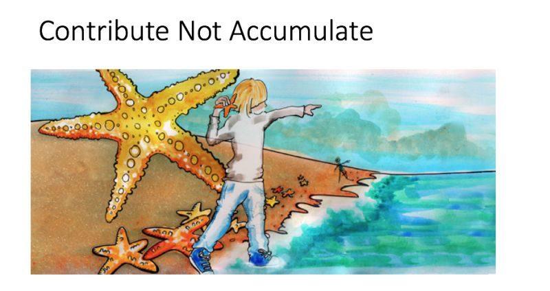 Accumulate and contribute