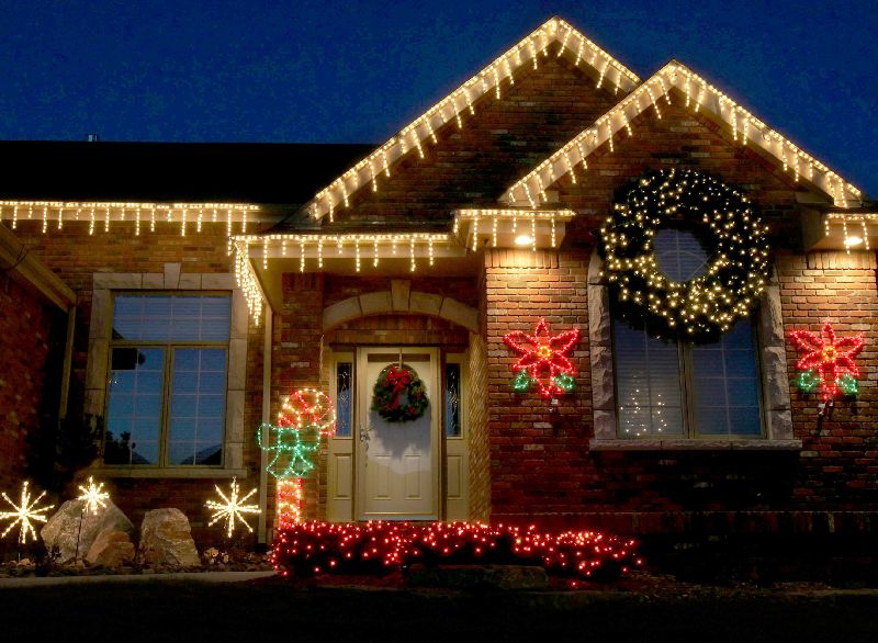 - Innovative Ways Of Arranging Christmas Lights Around Your Home