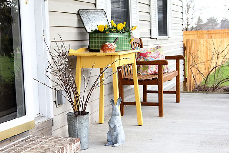 Decorating Your Porch For The Spring