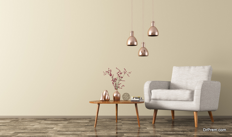 Mix Metals In Home Decorating