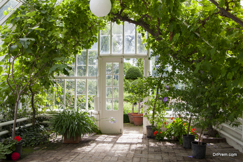 convert your house into a Greenhouse