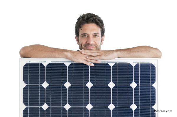 start with the Solar panels