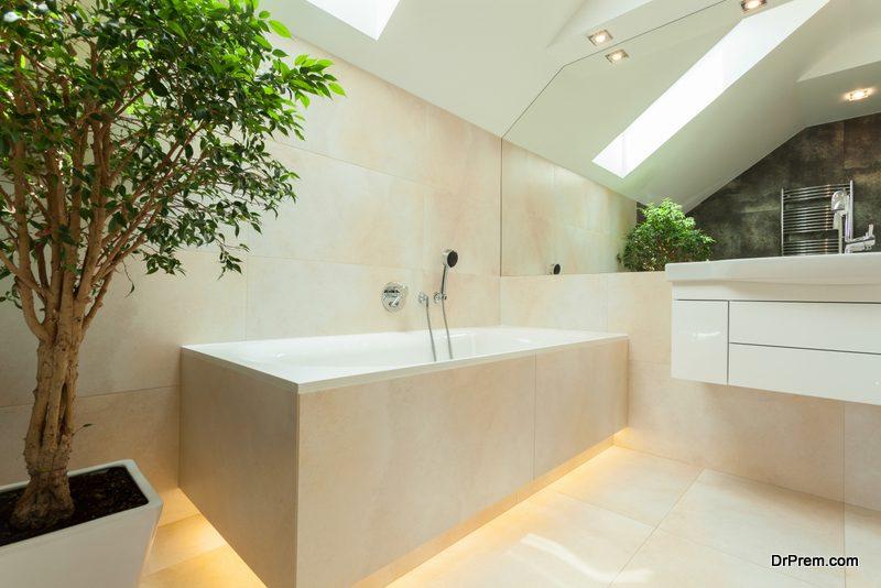 Hidden Bathroom Tile Boxes