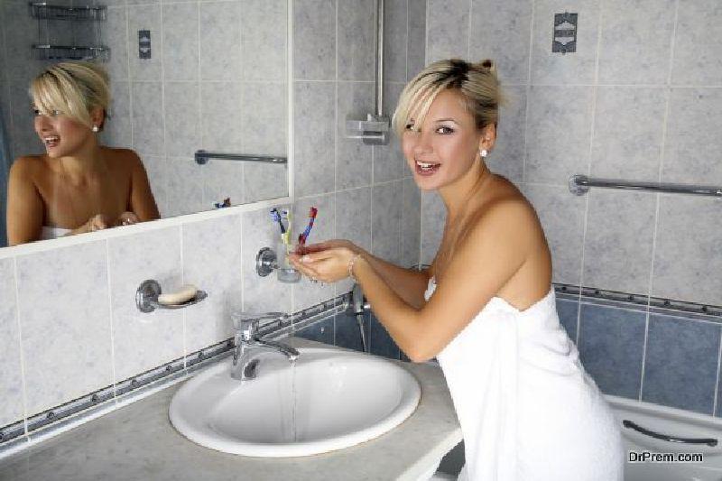 hygiene in washroom