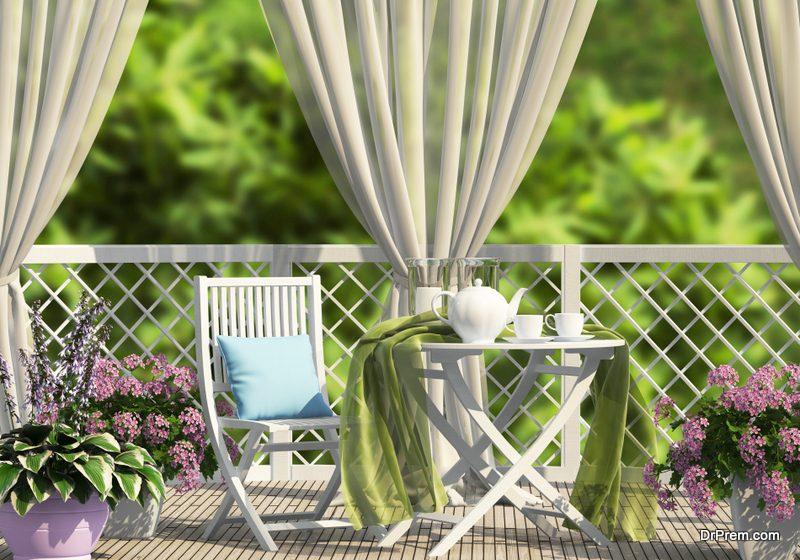styling small outdoor spaces