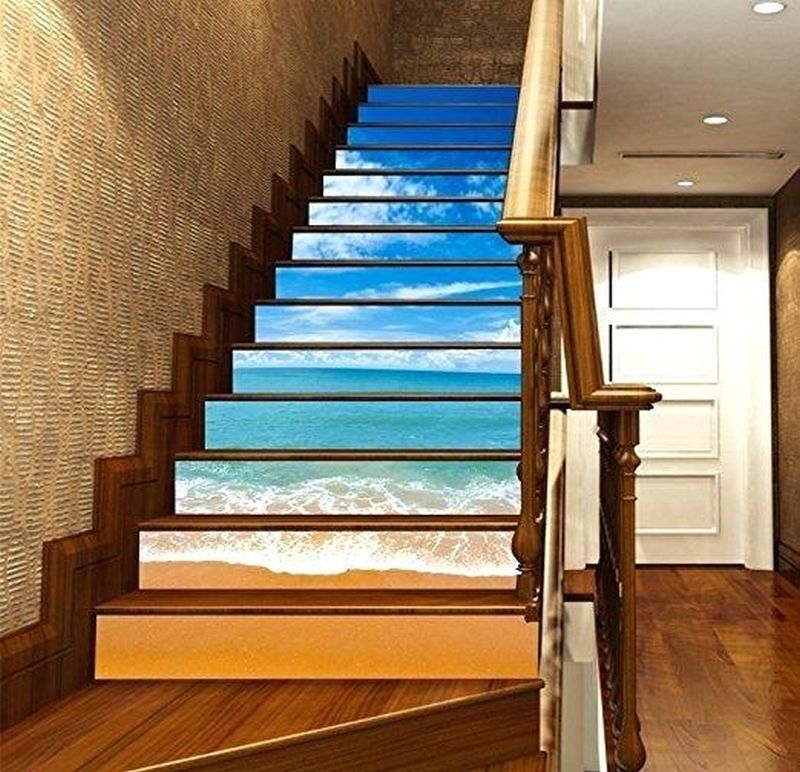 Decorate Your Stair Risers