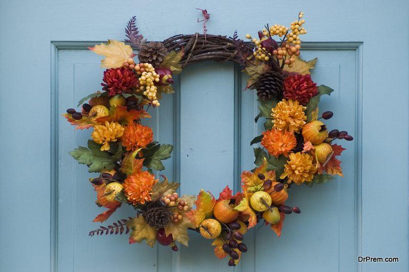Decorating the door