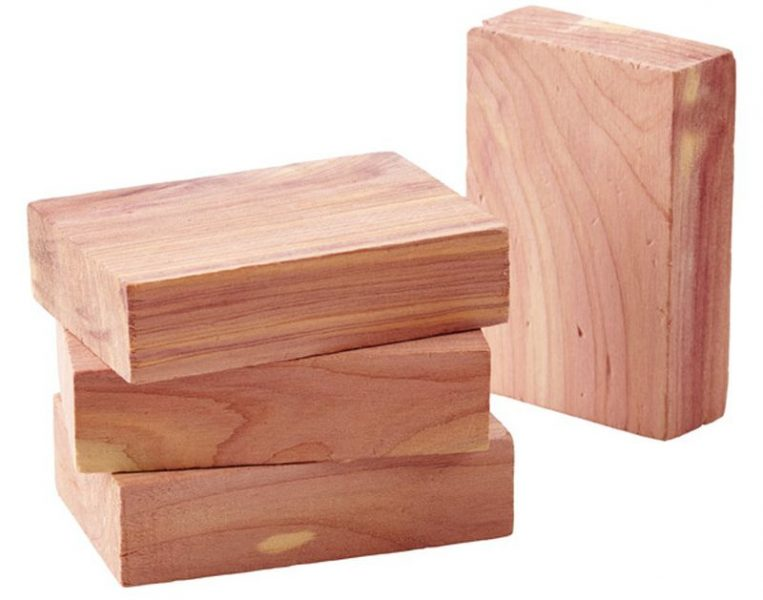 Scented wood blocks