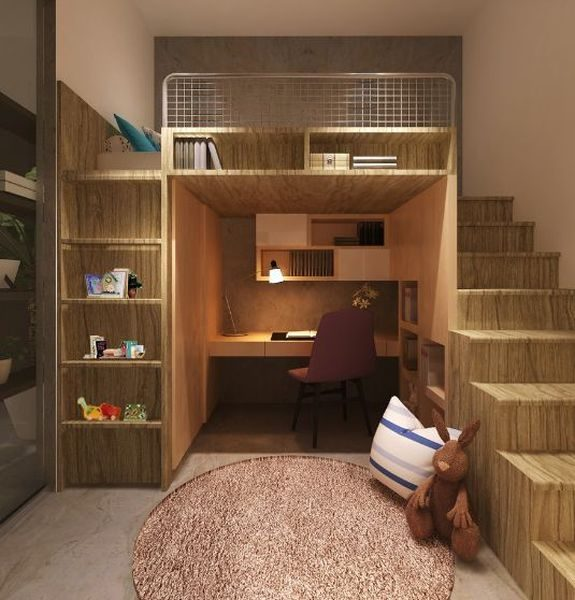 basement into the study ROOOM