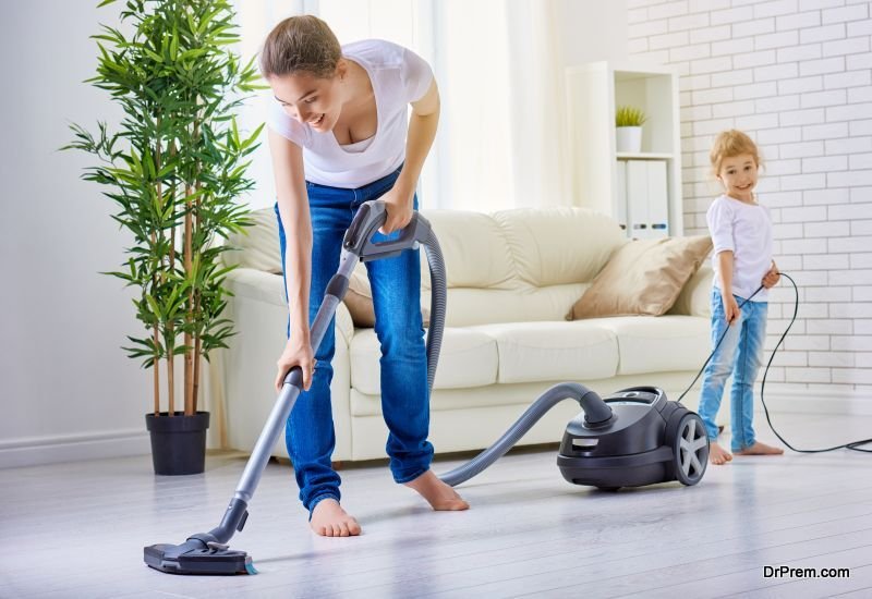 keep dust away from home