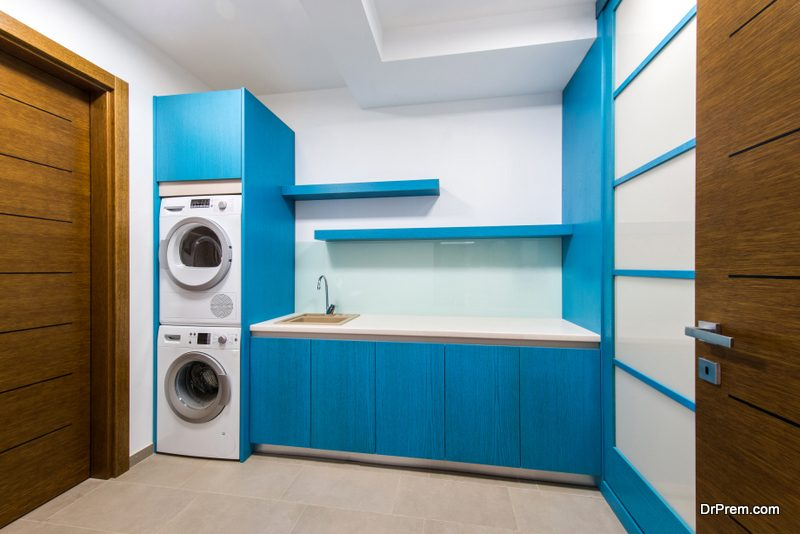 remodelling the laundry room