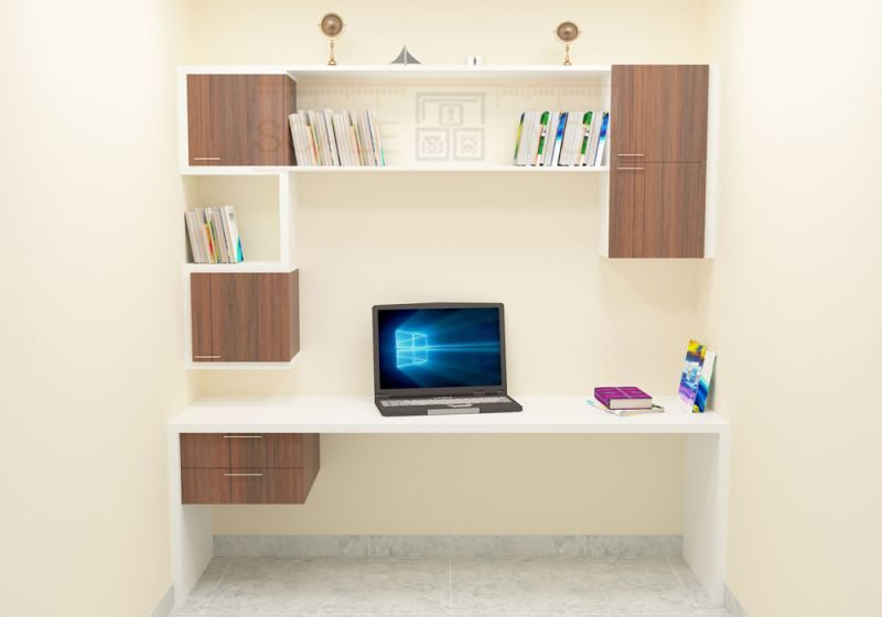 wall study table