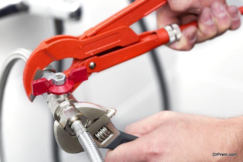 Access good quality plumbing