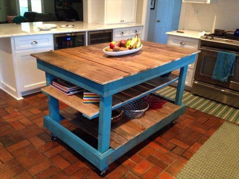 pallets Kitchen Island