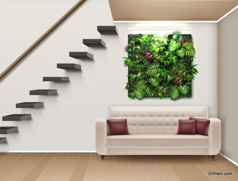 Organic interior design