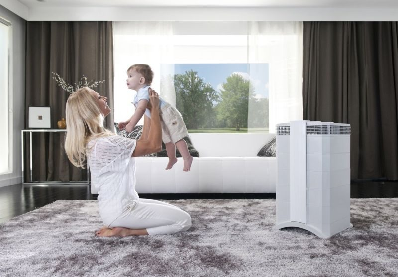 Install air purifiers