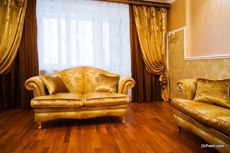 budget friendly house decoration ideas with silk