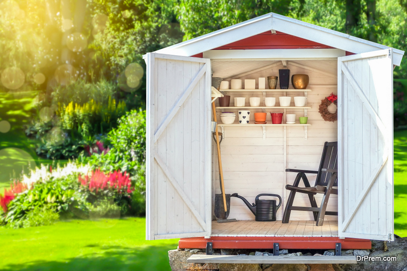Have a Shed at Your Home