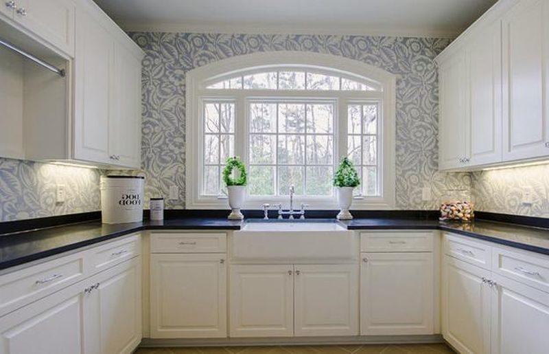 kitchen Flower Wallpaper