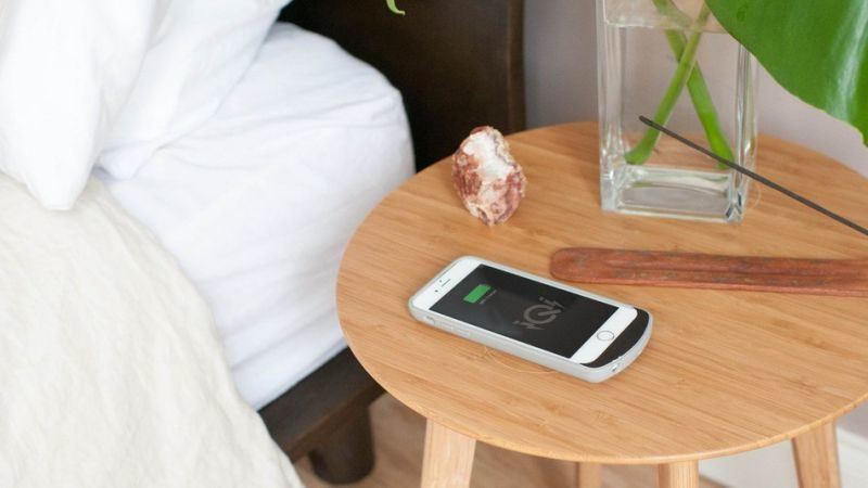 table that charges your phone