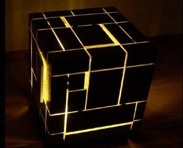 A cubic lighting