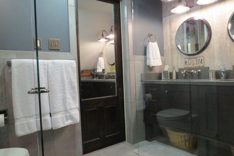Built-In Mirror Panels Doors