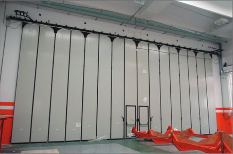 Librium hangar door