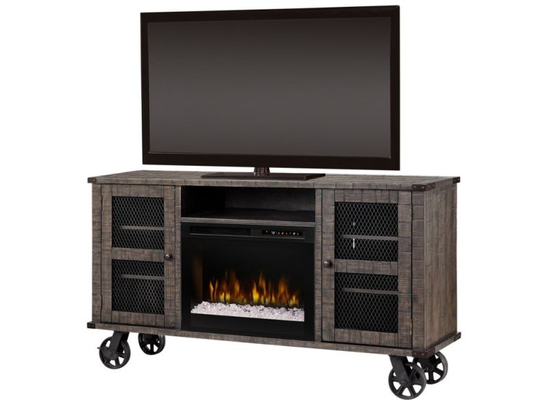 Fireplace on wheels