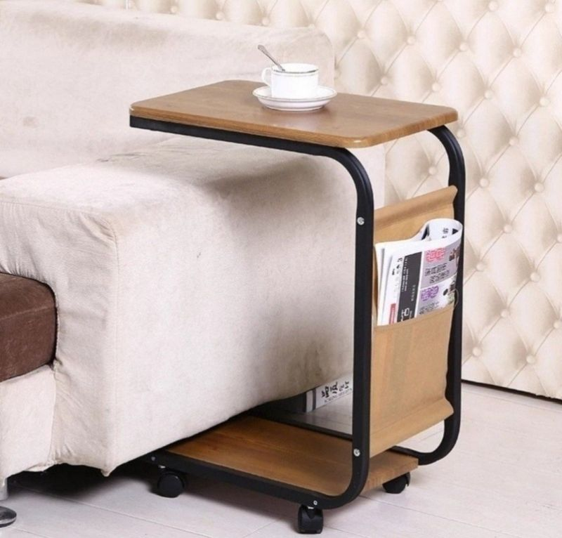 Movable side tables