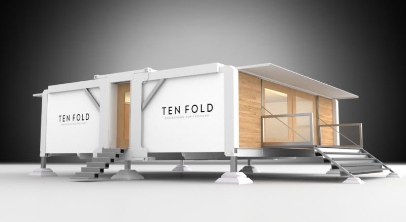 The Ten Fold folding home