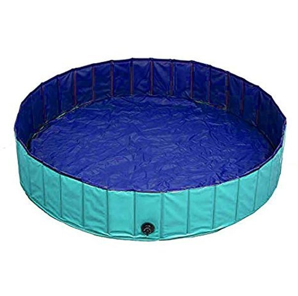 Delifur-Foldable-PVC-Dog-Swimming-Pool