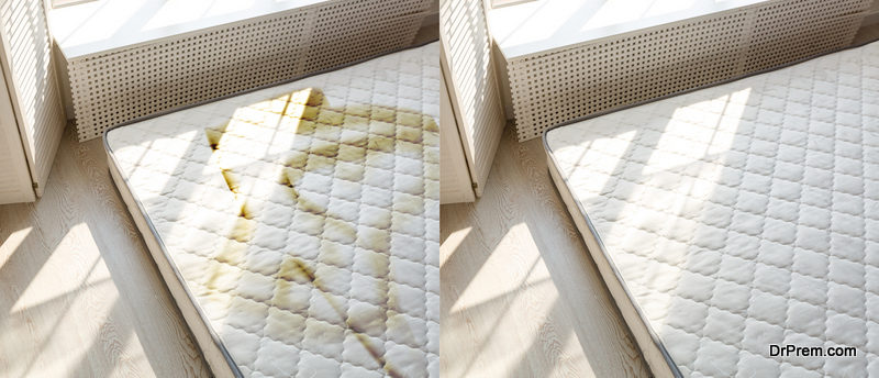Keep your mattress cover clean