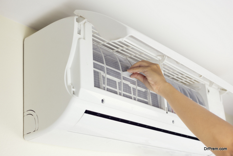 Removing Air Conditioner Filters