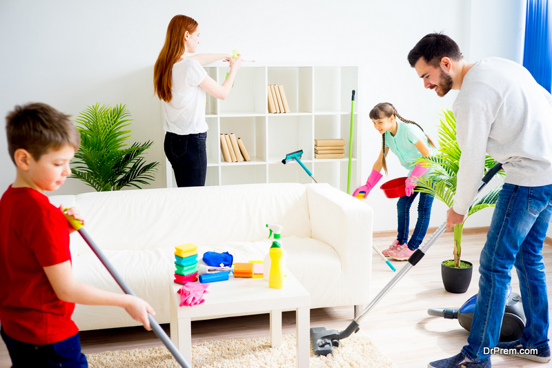 Keep Your Home Clean When You're Busy