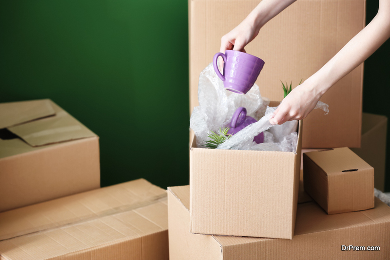 Unpack the rest of your boxes