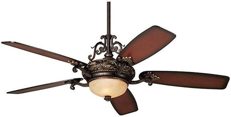 Casa Esperanza ceiling fan