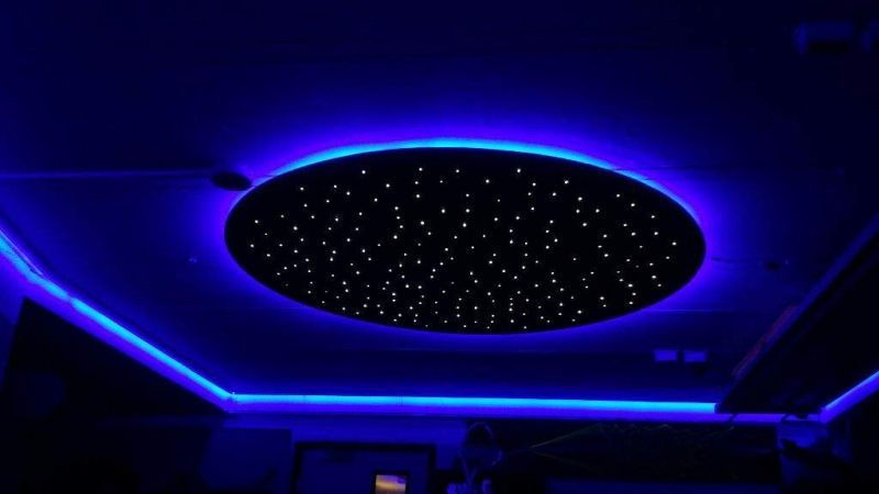 Ceiling-mounted-infinity-mirror